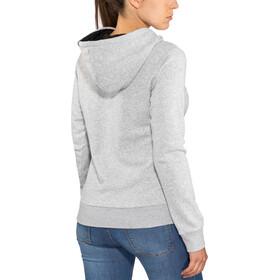 ION Logo Hoodie Damen grey melange